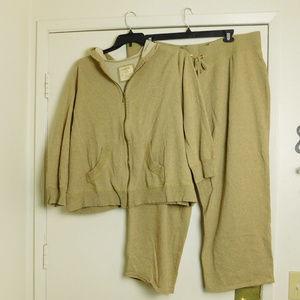 Avenue Jacket & Pants Outfit Plus Size 22/24 26/28